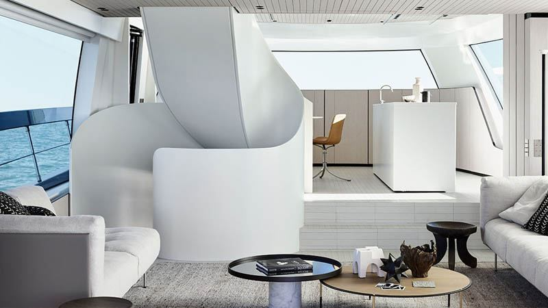 Yacht interior painting services in Mallorca