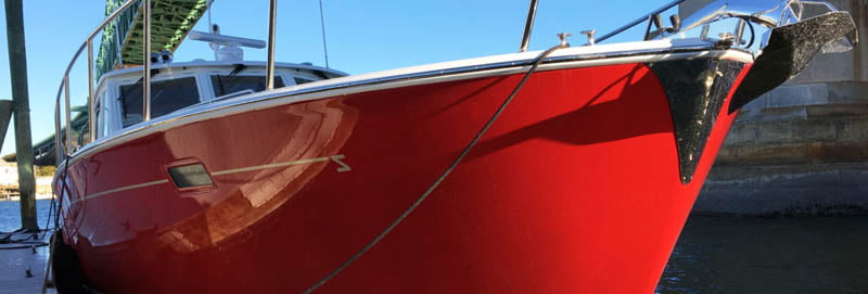 exterior yacht painting